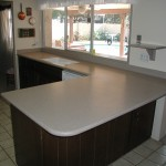 HiMacs Countertop with integral sink