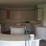 Custom Solid Surface Kitchen